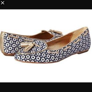 Coach Shoes - Coach Malika Mini Floral Blue Black Gold 10 NWT